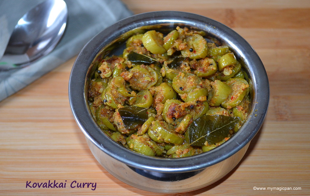 Kovakkai Podi Curry - Kovakkai Curry