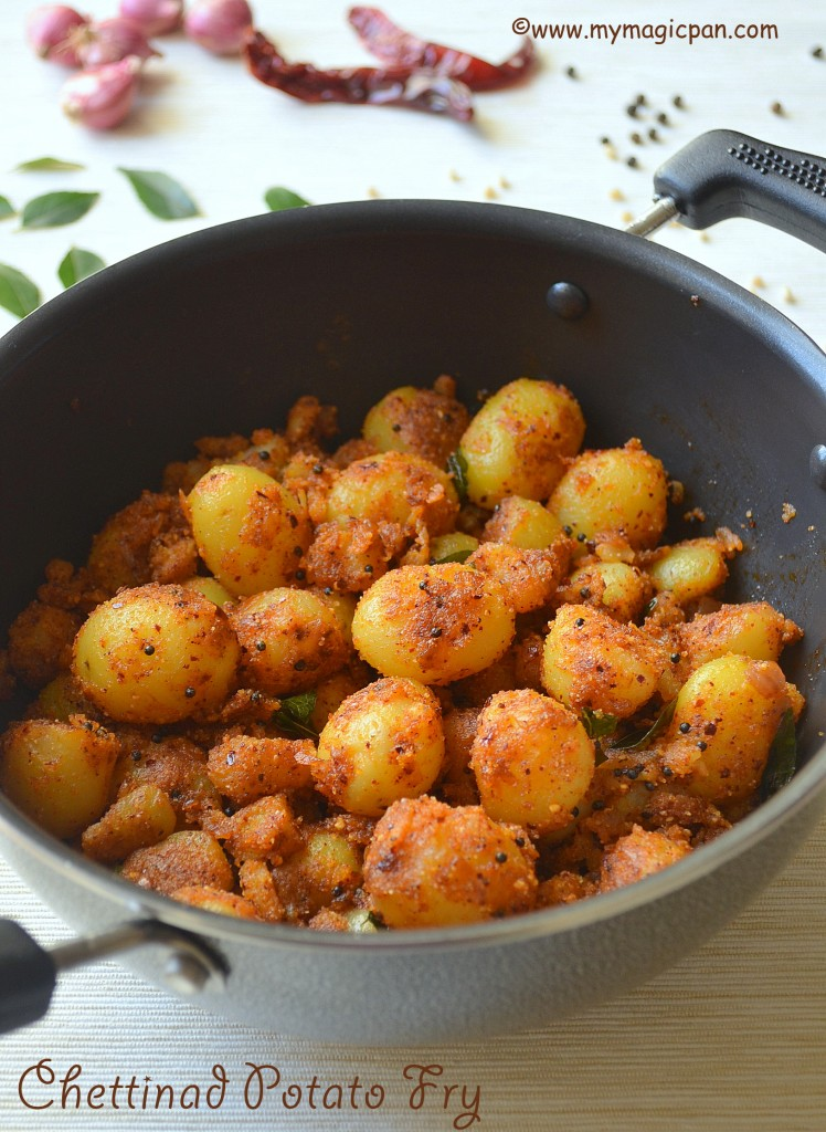 Chettinad Potato Fry My Magic Pan