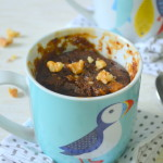 Eggless Coffee Walnut Mug Cake