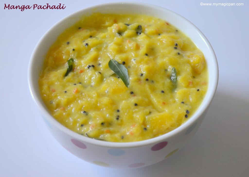 Mango Pachadi - Maangai Pachadi