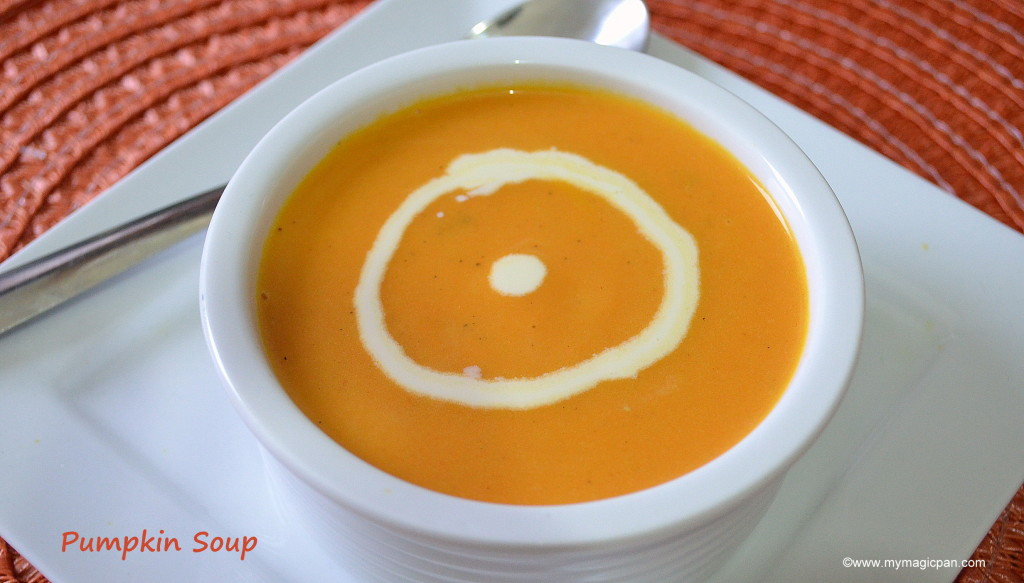 Pumpkin Soup My Magic Pan