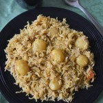 Baby Potato Biryani