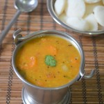Tiffin Sambar - Idli Sambar (with toor dal)