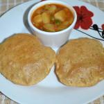 Masala Poori - Spicy Poori