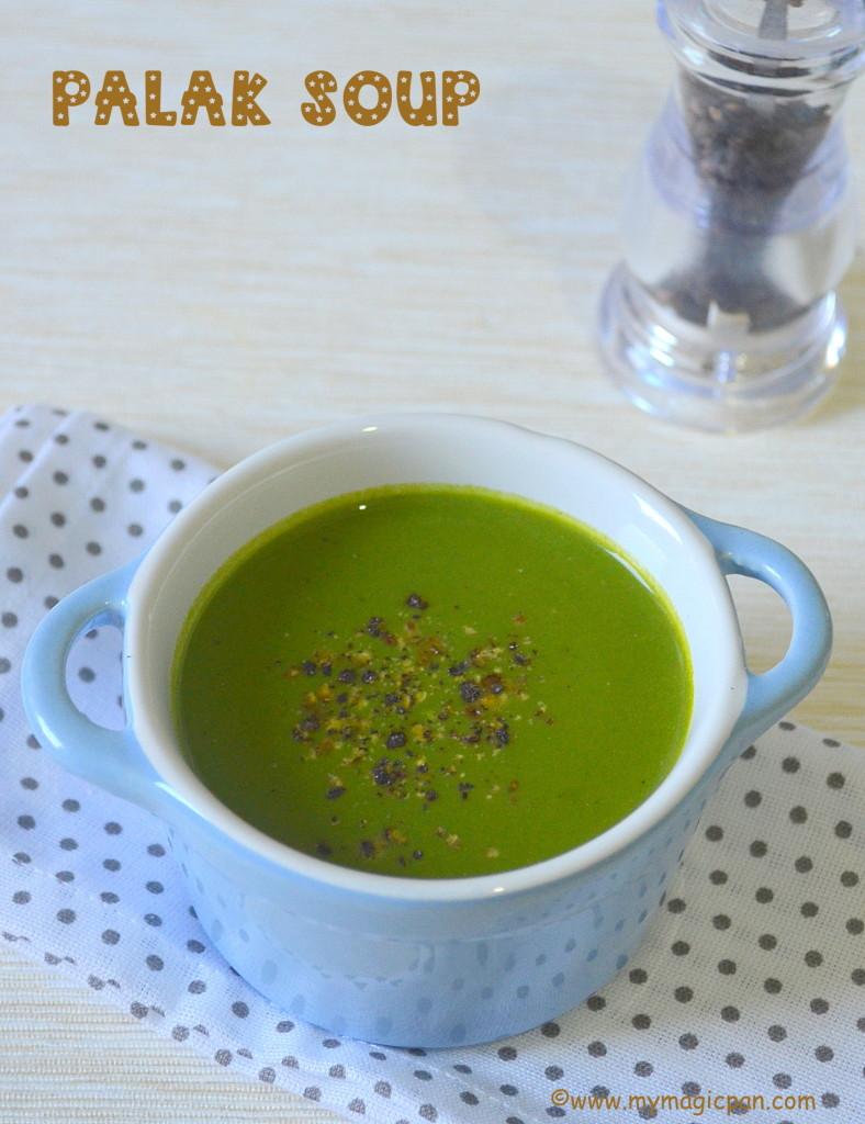 Spinach Soup My Magic Pan