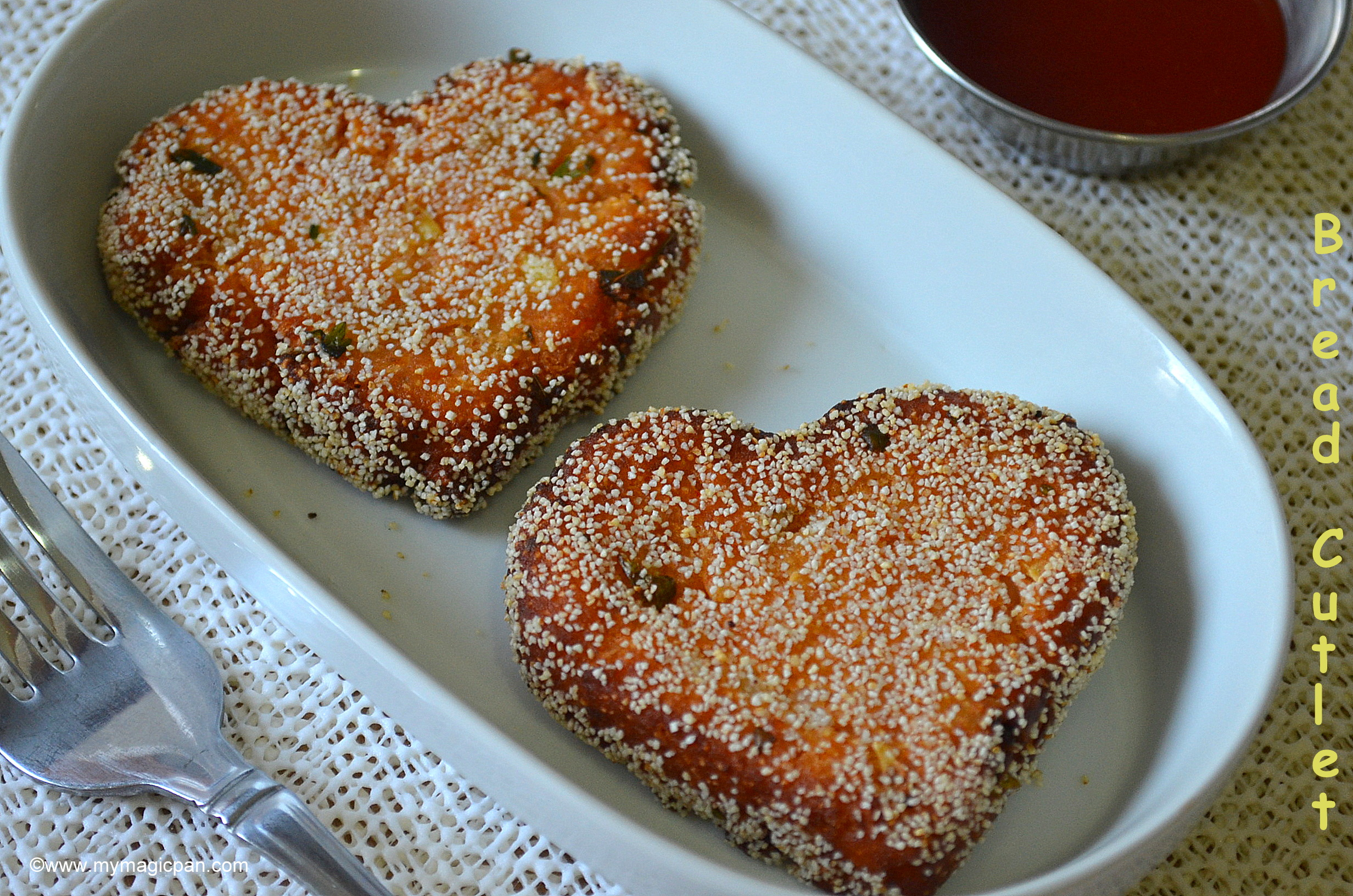 how to prepare cutlet with bread