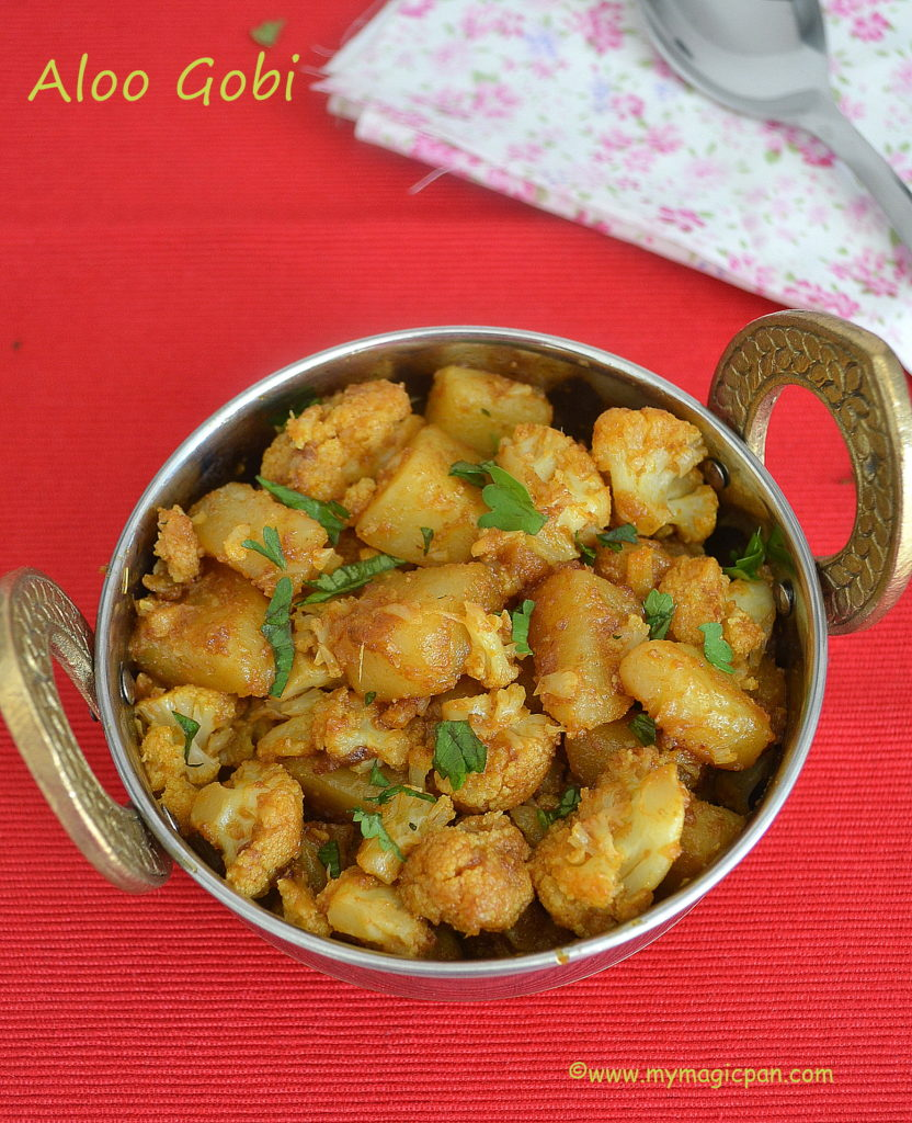 Aloo Gobi My Magic Pan