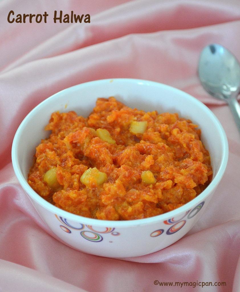 Carrot Halwa My Magic Pan