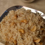 Cashew Pulao - Kaju Pulao Video Recipe