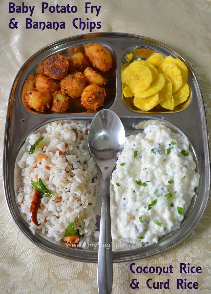 Variety Rice Lunch Menu My Magic Pan