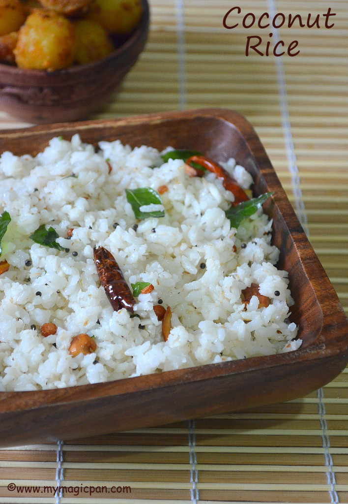Coconut Rice My Magic Pan