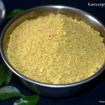 Karuveppilai Podi - Curry Leaves Powder