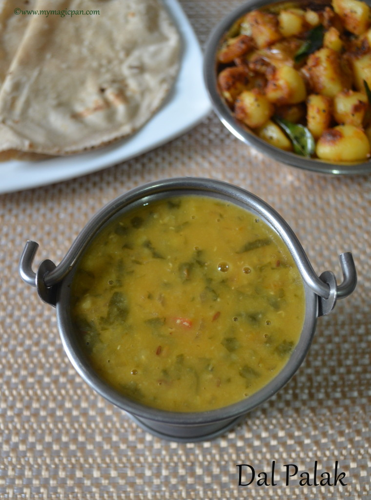 Dal Palak My Magic Pan