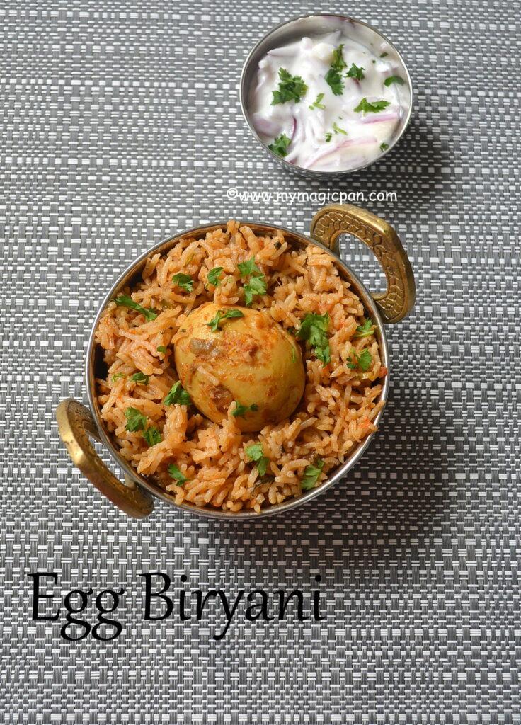 Egg Biryani My Magic