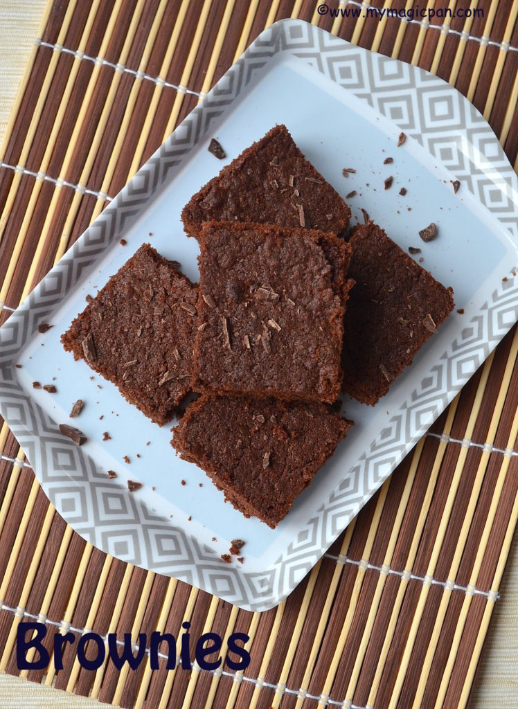 Eggless Brownies My Magic Pan