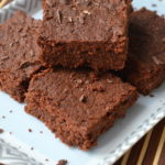 Eggless Brownies - Eggless Chocolate Brownies