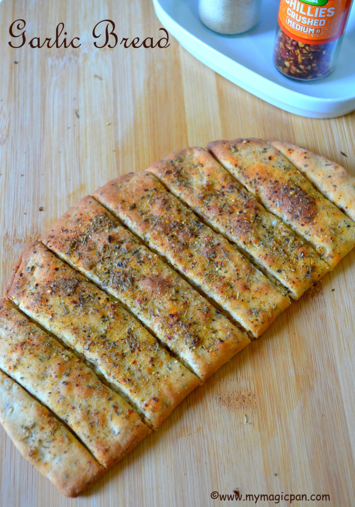Garlic Bread Dominos Style My Magic Pan