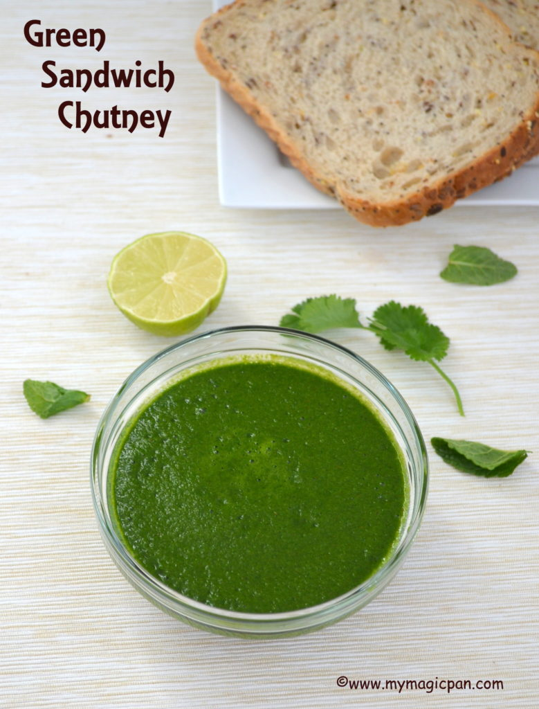 Sandwich Chutney My Magic Pan