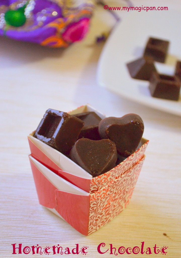 Homemade Chocolate My Magic Pan