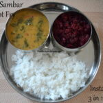 Instant Pot PIP - Keerai Sambar Rice and Beetroot Fry