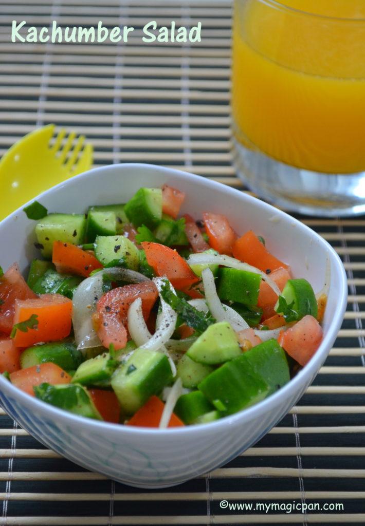Kachumber Salad My Magic Pan