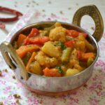 Veg Kadai - Kadai Vegetable - How to make Veg Kadai