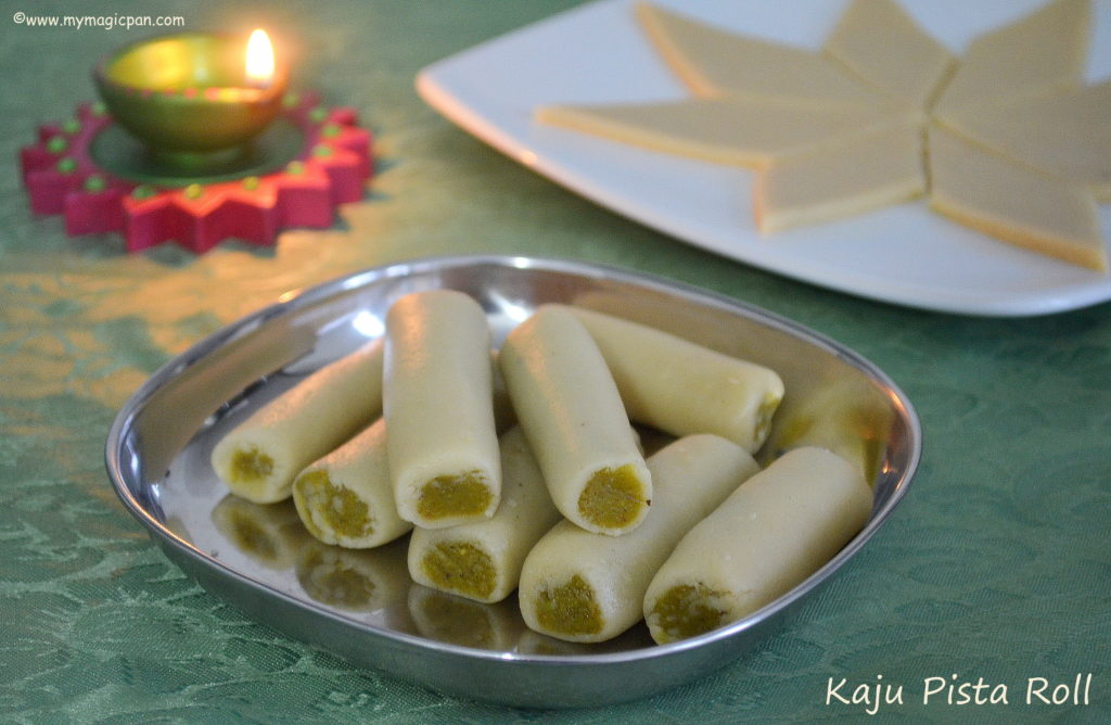 Kaju Pista Roll My Magic Pan