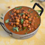 Kala Chana Gravy - Black Chickpea Curry