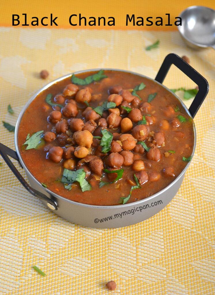 Kala Chana Gravy My Magic Pan