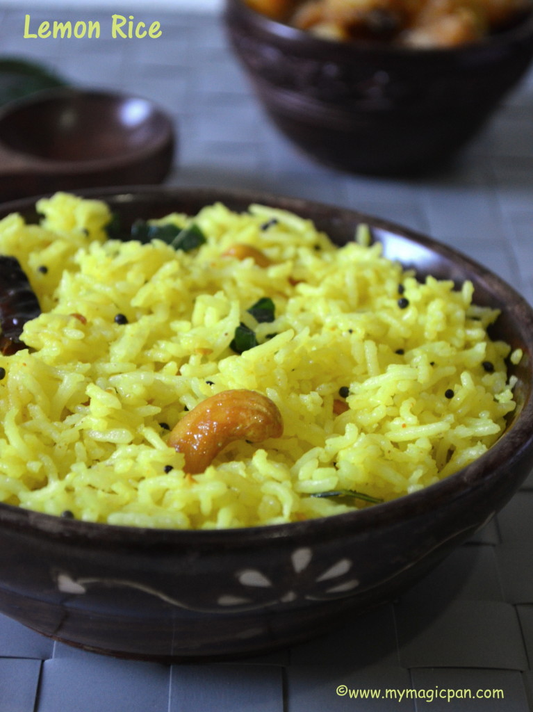 Lemon Rice My Magic Pan