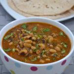 Lobia Masala - Lobia Masala Curry