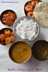 Lunch Menu - My Magic Pan