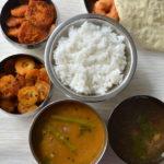 Lunch Menu 6 - South Indian Lunch Menu