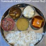Lunch Menu 8 - South Indian Lunch Menu