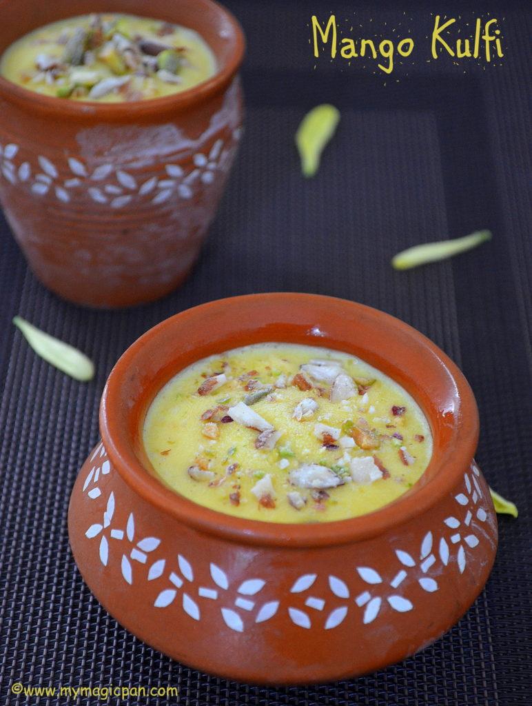 Mango Kulfi My Magic Pan