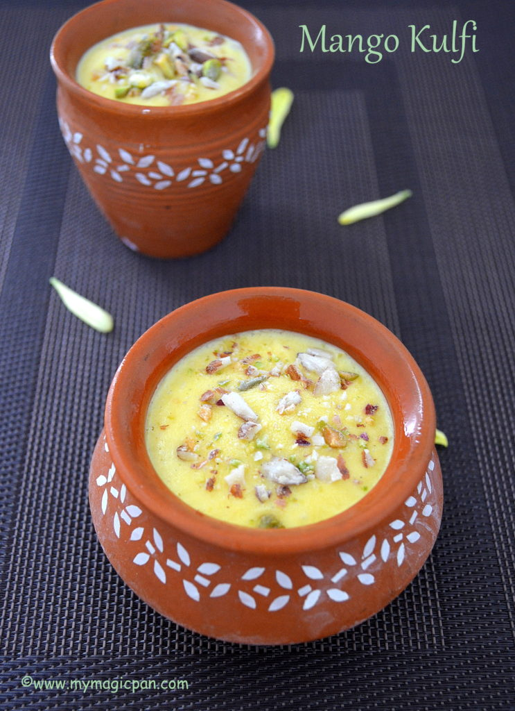 Mango Kulfi My Magic Pan