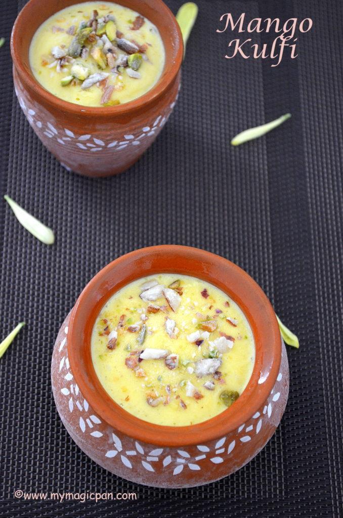 Mango Kulfi No Cook My Magic Pan