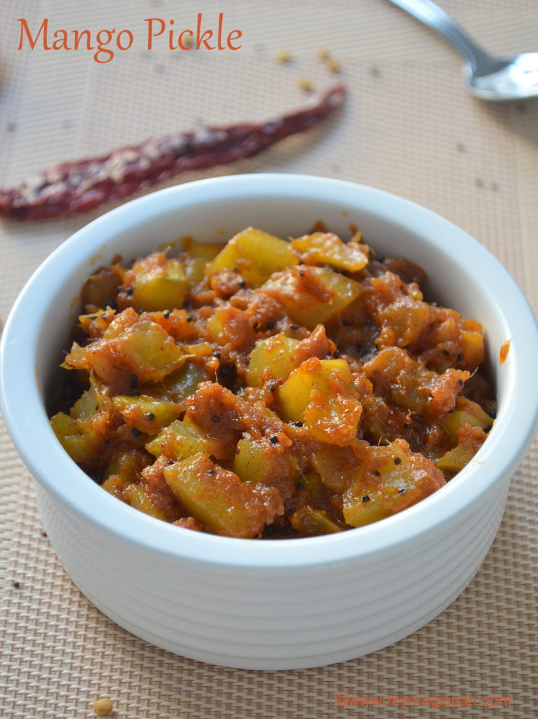 Instant Mango Pickle My Magic Pan