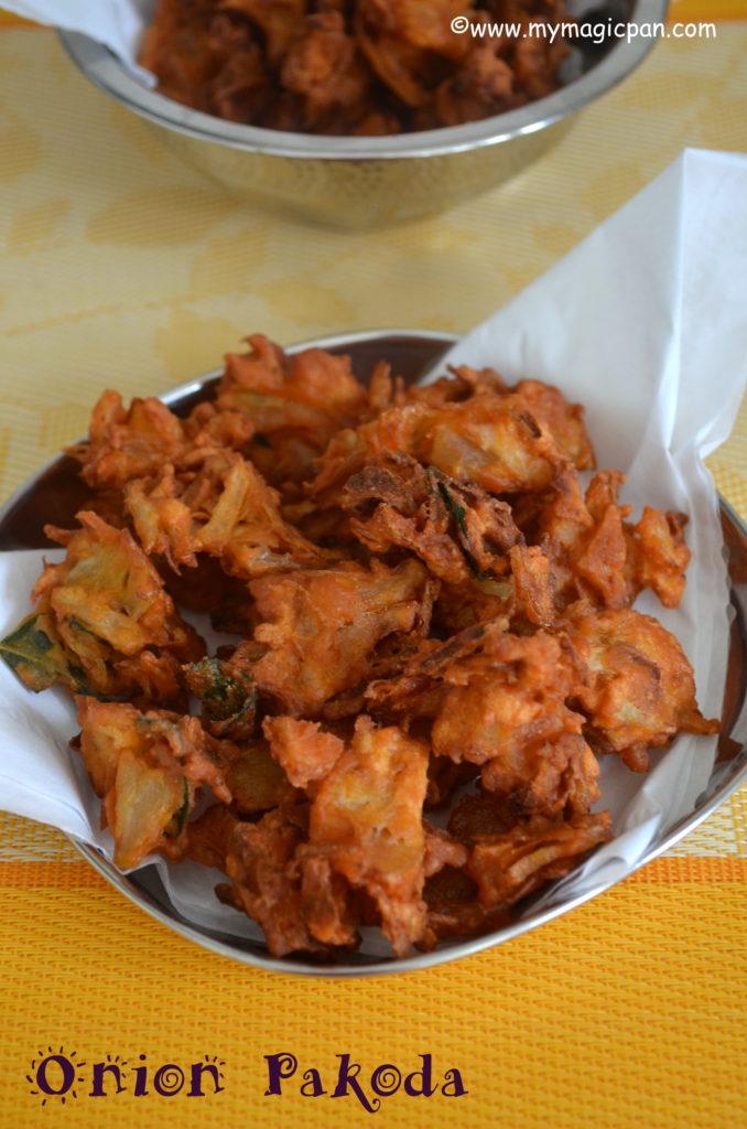 Onion Pakoda My Magic Pan