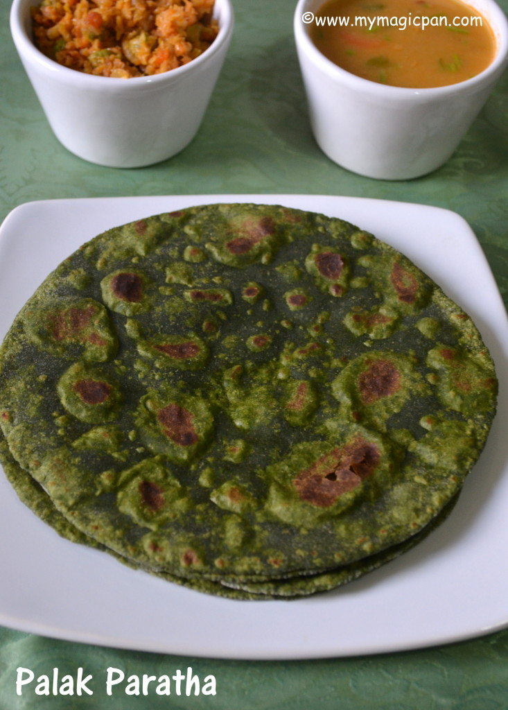 Palak Paratha My Magic Pan