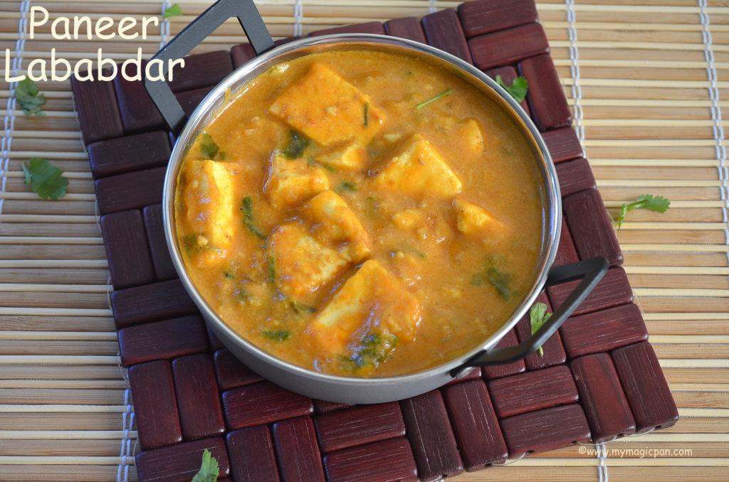 Paneer Lababdar My Magic Pan