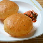 Paneer Poori - Wheat Flour Paneer Puri
