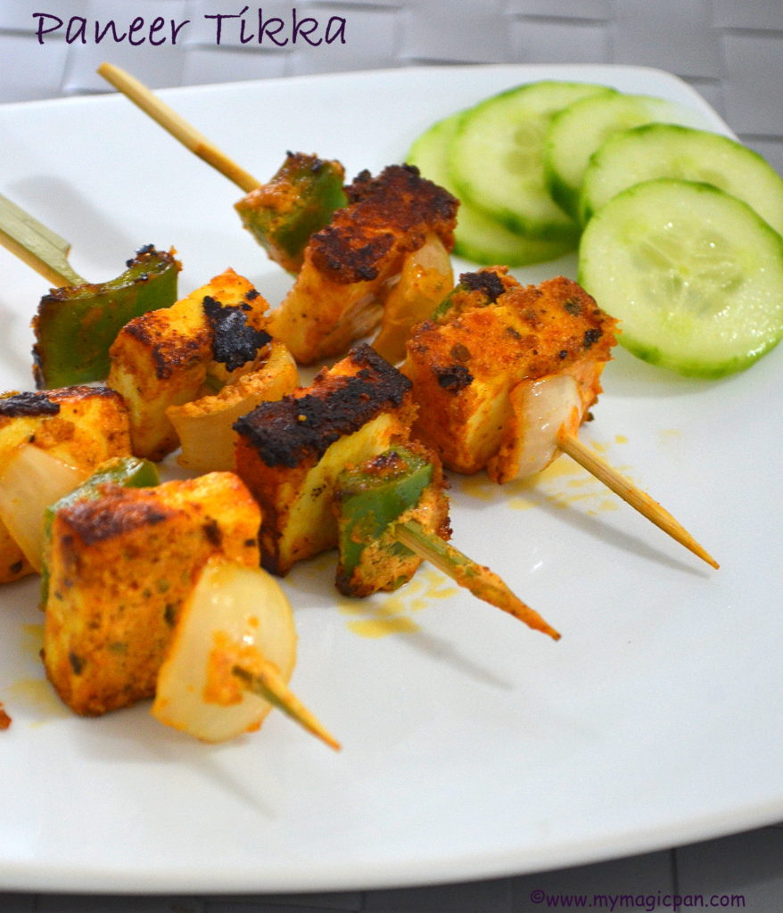 Paneer Tikka My Magic Pan