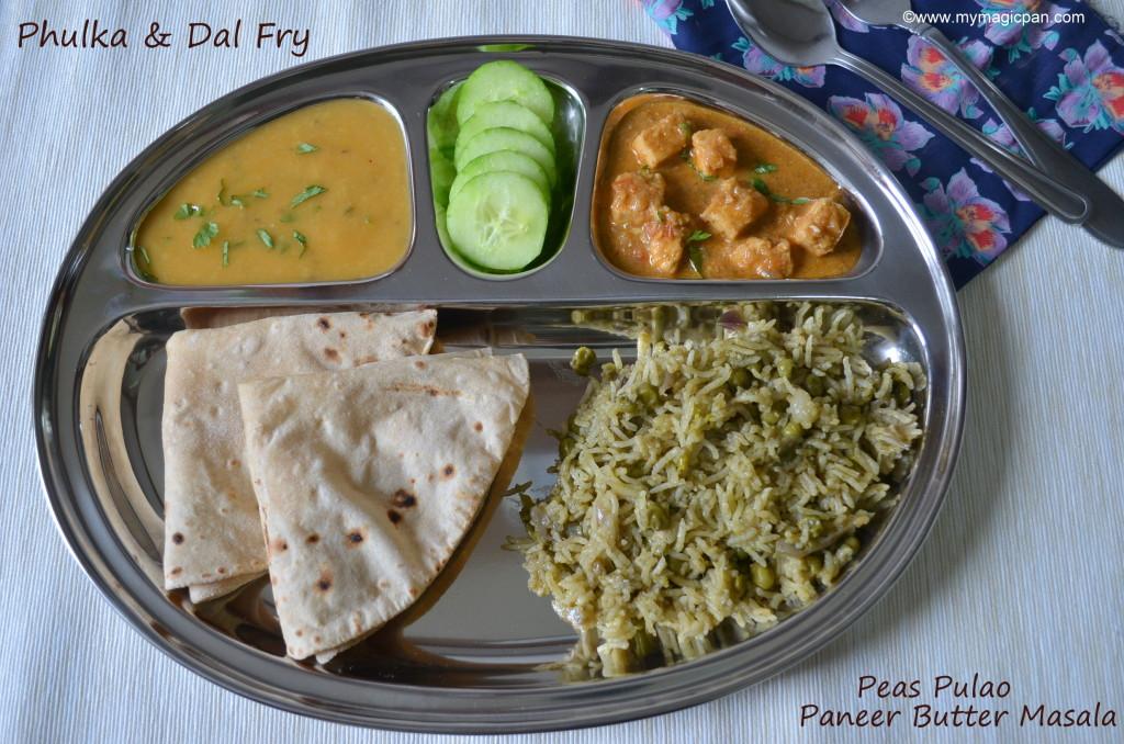 North Indian Lunch Menu My Magic Pan