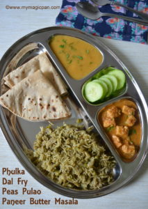 North Indian Menu - My Magic Pan