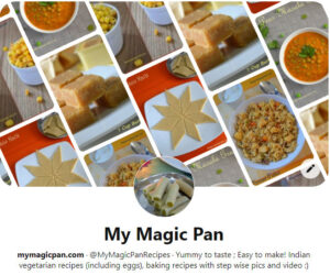 Follow My Magic Pan on Pinterest