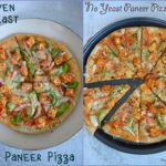 No Yeast Paneer Pizza - Tawa Pizza - Oven Pizza