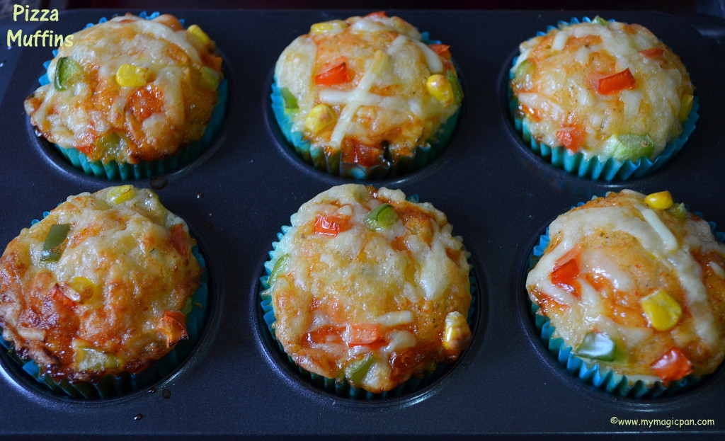 Pizza Muffin My Magic Pan