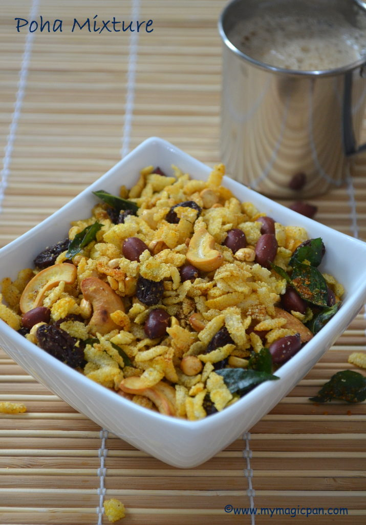 Poha Chivda My Magic Pan