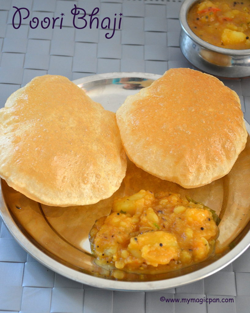 Poori Bhaji My Magic Pan